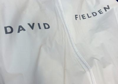 David Fielden bridal wear
