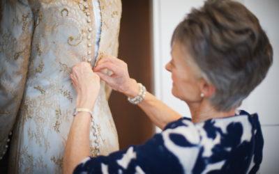 Hannah's Beautiful Wedding Dress