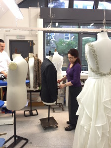 bridal alteration workroom
