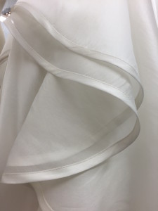 made to measure bridal detail